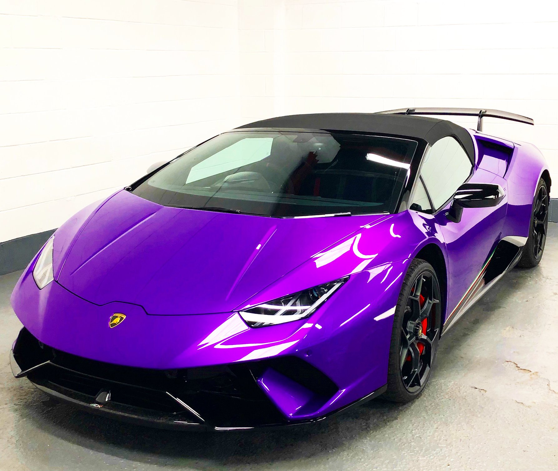 Lamborghini Huracan Performante Spyder Protection Detail